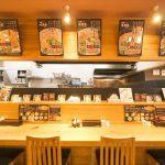 新潟市中央区のらーめん屋、麺屋味勲拉(あじくら)のカウンター