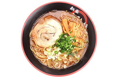 魚介&豚骨Wスープらー麺